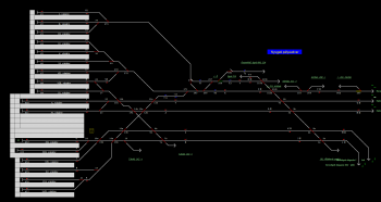 Nyugati pályaudvar állomás helyszínrajza