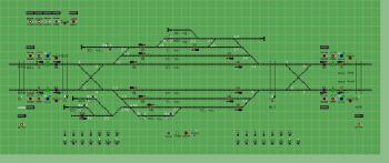 Albertirsa állomás biztosítóberendezáse