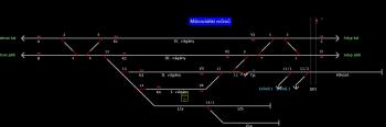 Mátravidéki erőmű állomás helyszínrajza