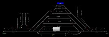 Rajka állomás helyszínrajza