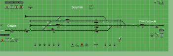 Solymár állomás biztosítóberendezáse
