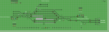 Balatonszentgyörgy állomás biztosítóberendezáse
