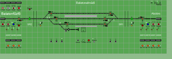 Balatonalmádi állomás biztosítóberendezáse