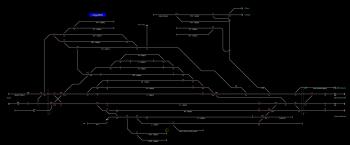 Angyalföld állomás helyszínrajza
