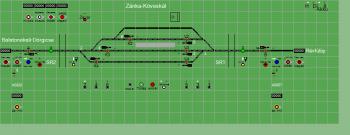 Zánka-Köveskál állomás biztosítóberendezáse