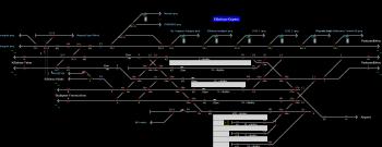 Kőbánya-Kispest állomás helyszínrajza
