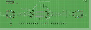 Lébény-Mosonszentmiklós állomás biztosítóberendezáse