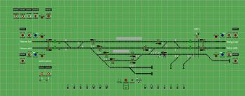 Mátravidéki erőmű állomás biztosítóberendezáse