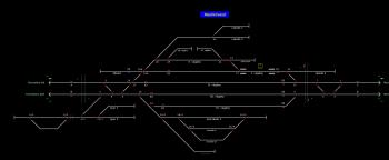 Mezőkövesd állomás helyszínrajza