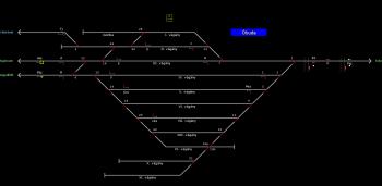 Óbuda állomás helyszínrajza