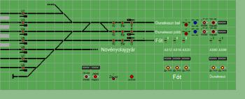 Rákospalota-Újpest állomás biztosítóberendezáse