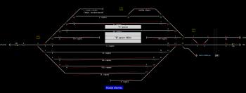 Bodajk állomás állomás helyszínrajza